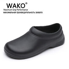 Wako Sale Men Chef Kitchen Working Shoes Casual Flat Work Shoe For Unisex Cook W