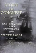 Storm and Conquest by Stephen Taylor (CD, 2008, Unabridged, Audiobook) *NEW*