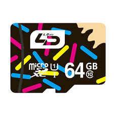 Ld Micro Sd Card 64Gb Class 10 Memory Card Uhs-1