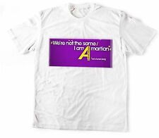 Human Being Martial Printed T shirt Sports Wear White Round Neck