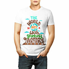 The World Victory Printed T shirt Sports Wear White Round Neck