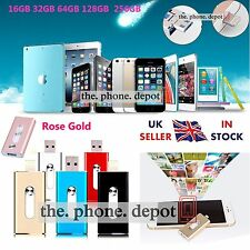 For iPhone i-Flash Drive USB 32 64 128 256GB OTG Device Memory Stick iOS Android