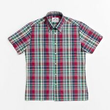 Brutus 4401-302 Greatfit red madras check short sleeve shirt size-5XL LAST ONE