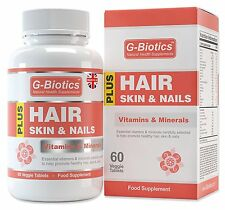 G-Biotics Hair Skin And Nails Vitamins HIGH GRADE Supplement ON SALE NOW!