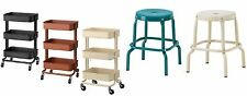 IKEA RÅSKOG Trolley & STOOL In Various Colours 2 STYLE BRAND NEW FREE &FAST POST