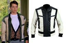 Ferris Bueller's Day Off Matthew Broderick Men's REAL LEATHER or FAUX Jacket