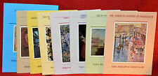 8 Terra Museum of American Art Exposition/Symposium Catalogs in a white box