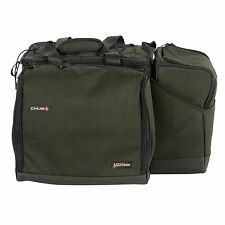 Chub Fishing Vantage Long & Short session Food Bags - Insulated Lining, Dividers