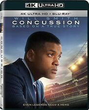 Concussion [4K Ultra HD + Blu-ray] DOLBY ATMOS (2015) IMPORTED UNCUT EDITION