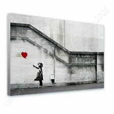 READY TO HANG CANVAS There Is Always Hope Banksy Framed Wall Art Giclee