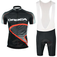 Ropa ciclismo 2017 manga corta Orbea 4 maillot culot cycling jersey maglie short