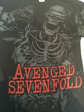 Avenged Sevenfold - Skeleton A7X All Over T Shirt