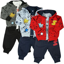 Kinder Baby Jungen Kleidung Paket Set 3 tlg Sweat Jake Hose Lang Arm Shirt 21091