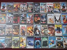 BUNDLE of RARE / COLLECTABLE PSP GAMES UMD MOVIES –SIMPSONS ROCKY GTA