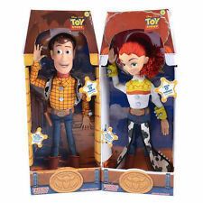 """Woody Toy Jessie Story 3 Pull String 15"""" Talking Action Figure Doll Kids Toys"""