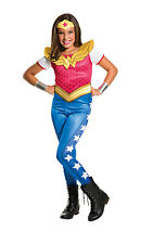 Wonder Woman superhero DC girls kids TV film fancy dress costume Large  8 - 10