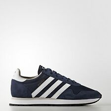 SCARPE SNEAKERS UOMO ADIDAS ORIGINALE HAVEN BB1280 PELLE BLU SHOES P/E 2017 NEW