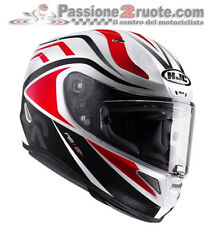 casque moto Hjc Rpha 11 Vermo blanc rouge casque integral casque taille XS S M L