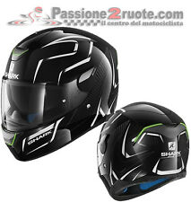 Casco Shark Skwal Flynn Kwa blanco negro black white