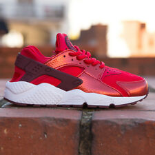 Nike Wmns Air Huarache Run - University Rot 634835-605 Neu Schuhe