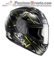 Casco integral Hjc Cs15 Songtan negro amarillo XS S