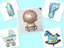 Boy Girl Baby Shower Foil Helium Balloon Christening Birthday Party Decor UK