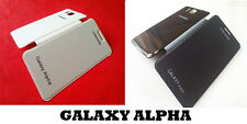FOR SAMSUNG GALAXY ALPHA G850 SYNTHETIC LEATHER FLIP FLAP COVER CASE