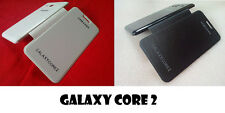 FOR SAMSUNG GALAXY CORE 2 G355H SYNTHETIC LEATHER FLIP FLAP COVER CASE