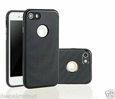 New Luxury Carbon Fiber Soft Slim TPU Back Case Cover For Apple iphone 5 / 5s