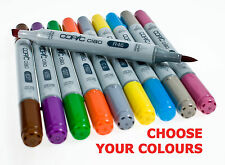 Copic Ciao Twin Tip Marker Pens ( All Colours - Codes YG, YR, G & 0 Blender )