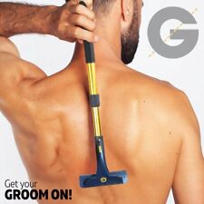 Groomarang Back & Body Hair Removal Shaver Razor Big Blade Hairy Back Remover