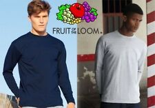 FRUIT OF THE LOOM camiseta de MANGA LARGA 6 colores