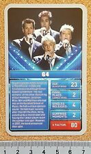 TOP TRUMPS Single Card The X FACTOR Specials Celebrities - VARIOUS