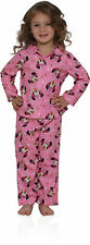 """Minnie Mouse Little Girls' Toddler """"Jewel Frame"""" 2-Piece Pajamas (Sizes 2T - 4T"""