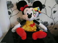 "BNWT JUMBO MICKEY MINNIE MOUSE CLUBHOUSE 24""/60cm PLUSH SOFT TOY DISNEY OFFICIAL"