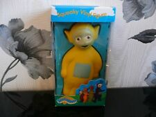 BOXED TELETUBBIES LAA LAA LA RABBIT PO SQUEAKY VINYL FIGURE