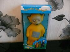 BNIB TELETUBBIES LAA LAA LA DIPSY RABBIT SQUEAKY VINYL FIGURE NEW(SOME BOX WEAR)