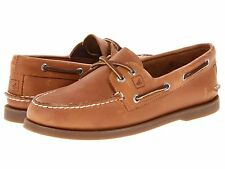 NEW MENS SPERRY TOP SIDER AUTHENTIC Sahara Brown ORIGINAL BOAT SHOES NEW IN BOX