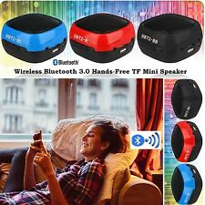 NEW BLUETOOTH WIRELESS MINI PORTABLE SPEAKER FOR MOBILE PHONES TABLET LAPTOPS PC