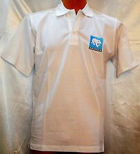 James Harvest Printer Surf Camiseta Polo Manga Corta Blanca Logo XS S M 2XL