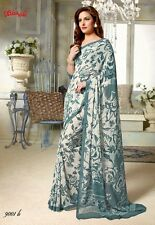 Casual Wear Georgette Saree - 9001-B