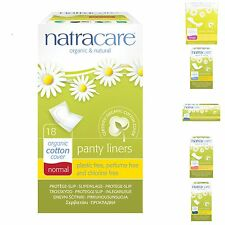 Natracare Panty Liners Organic Chlorine Plastic Free VARIOUS SIZES Eco Friendly