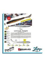 """HERAKLES LEFTAIL WORM 4.8"""" Artificiali Spinning new 2017"""