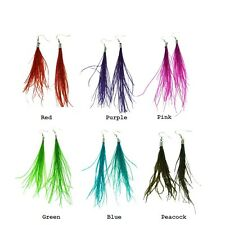 Innocent LifeStyle Aestf Earings Feather Blue Peacock Ladies Sale 1 Pound Off