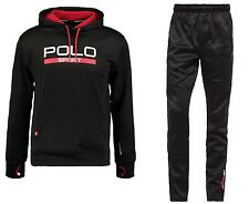 RALPH LAUREN POLO SPORT TECH POLY MEN'S HOODED FULL TRACKSUIT MULTI SIZE