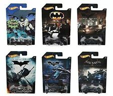 BATMAN HOT WHEELS BATMOBILE CARS BATMAN BEGINS CLASSIC DARK NIGHT RETURNS DFK69