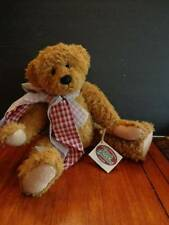 Ganz Cottage Colectibles, Tessa Bear  by Sue Coe -approx. 15