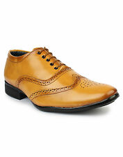 Inure Tan Formal Shoes For Men Art No71