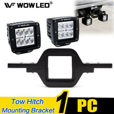 Tow Hitch Light Mounting Bracket Backup Reverse 12W LED Work Light Truck Lamp