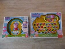 BNIB PEPPA PIG GUESS WITH PEPPA PHONICS ELECTRONIC LEARNING GAME COLOURS SOUNDS